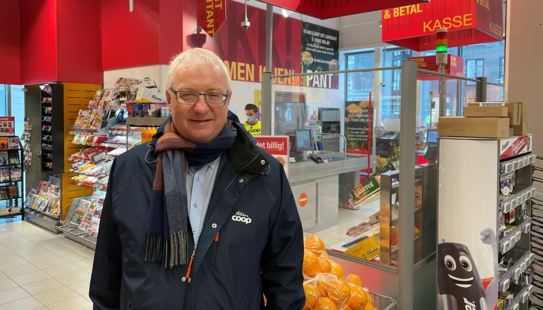 Torbjørn Skei er sjef i Coop Midt-Norge.
