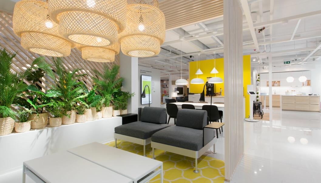 Ikea er klart størst i norsk møbelbransje.