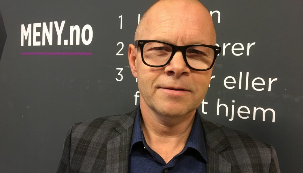 Knut Nyløkken er netthandelsjef i MENY.