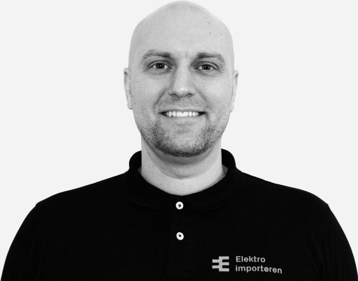 Erik Hegerlund er eCommerce Manager hos Elektroimportøren.