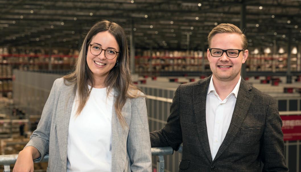 Nicole Berger blir HR-sjef og Mattias Jacobsson blir administrerende direktør i Jollyroom.