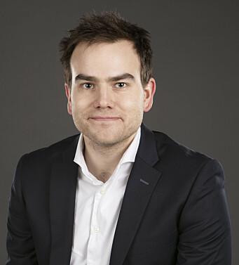 Kristian Glasø er løsningsarkitekt og prosjektleder i EINR.