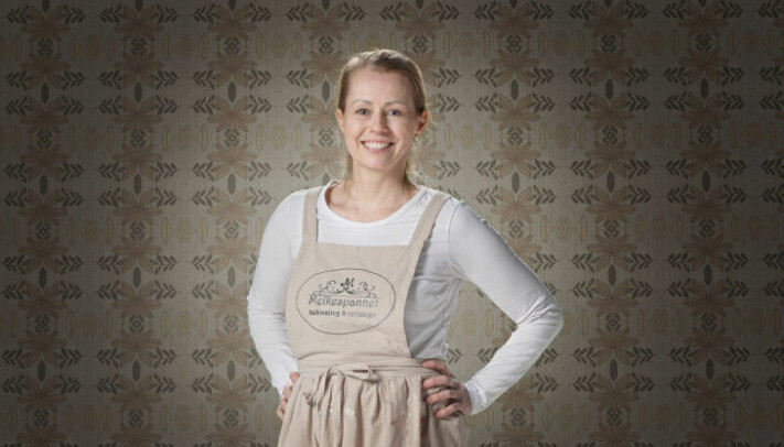 Jeanette Nielsen er ansvarlig for Melkespannet kalkmaling & redesign.
