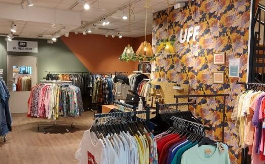 Ny UFF-butikk i Trondheim treffer godt