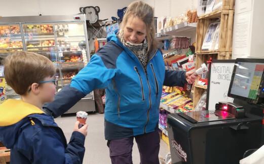 Teknologi redder butikker på små steder –økt omsetning og større sortiment