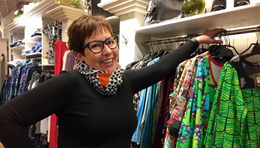 Helene Løbach driver klesbutikk på Lillestrøm og har skrevet åpent brev til næringsministeren.