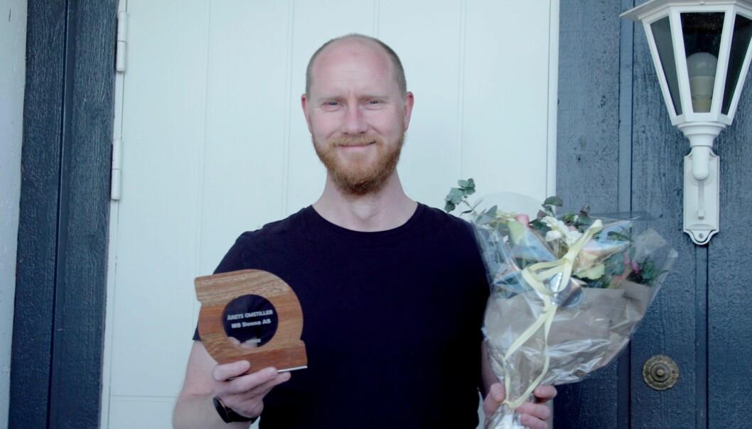Kjell Olav Rugset (t.v) er adm. dir og grunnlegger av MS Donna.
