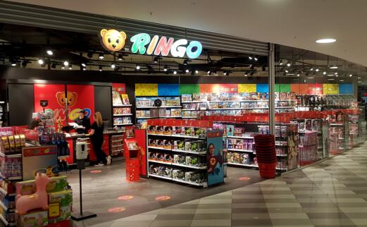 Kozmos blir Ringo – Norges største leketøykjede