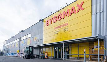 Byggmax økte omsetningen – tross stengte varehus