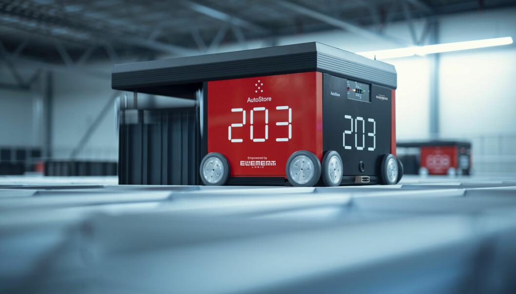 Element Logic har mer enn 100 installasjoner av AutoStore-systemer i verden.