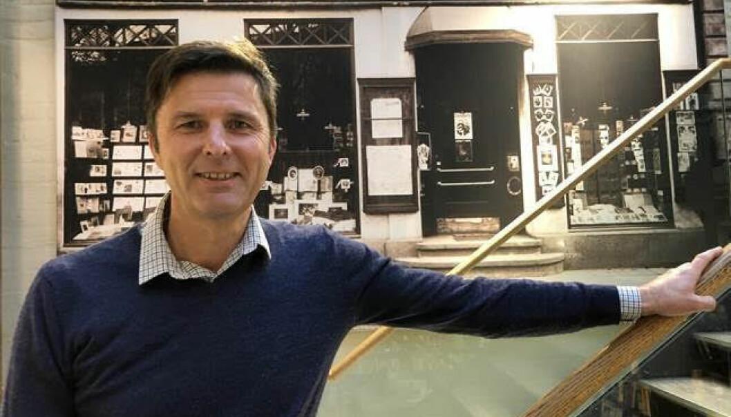 John Thomasgaard, administrerende direktør i Norli.