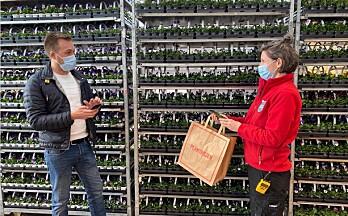 Plantasjen lanserer mobile kasser med Vipps