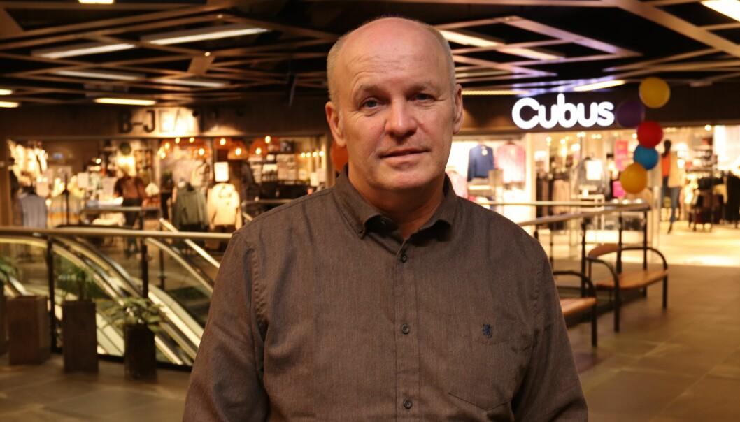Senterleder Geir Arne Johansen