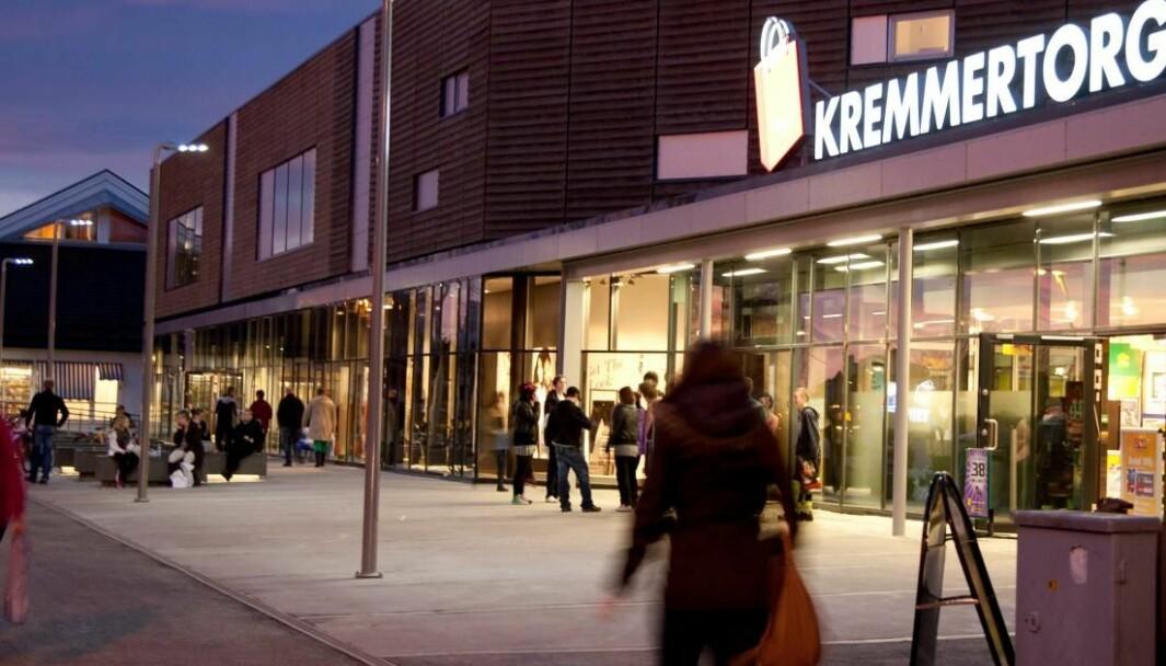 Det vil bli gjort fasadeendringer på Kremmertorget i Elverum.