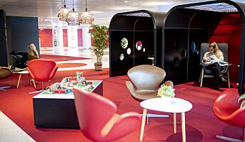 Luksus-lounge for de aller minste på Sirkus Shopping