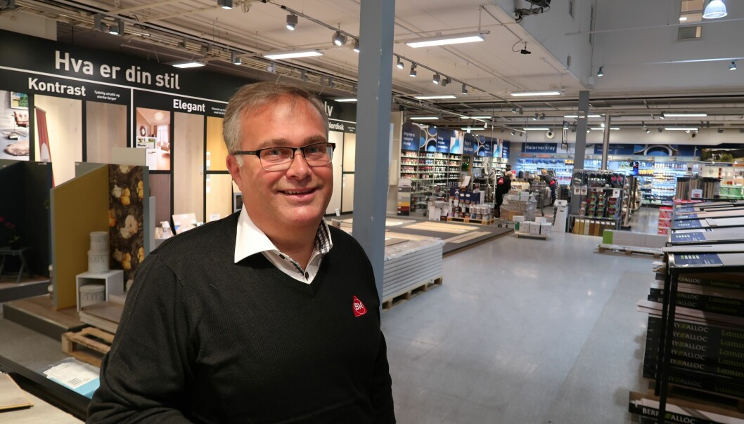 – Vi vil være best i byggevarehandelen på kundetilfredshet. Å ha fornøyde kunder gir økt lønnsomhet og gir oss et bedre omdømme, fastslår Erik Ilestad, kategori- og innkjøpsdirektør i Byggmakker CF.