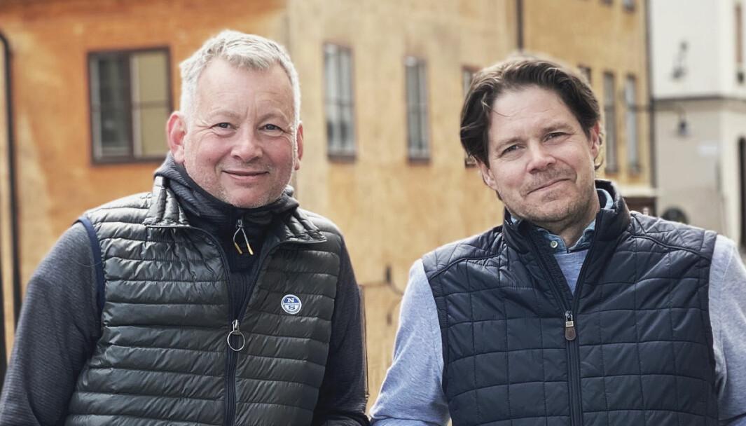 Niclas Heurling i Storm Commerce og Fredrik Hedblom i Jetshop slår sammen sine selskaper.