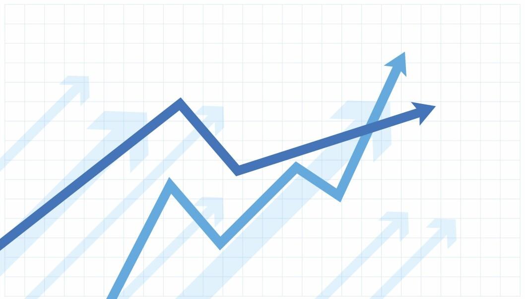 Investeringene i retail fortsetter å stige. Ill. foto