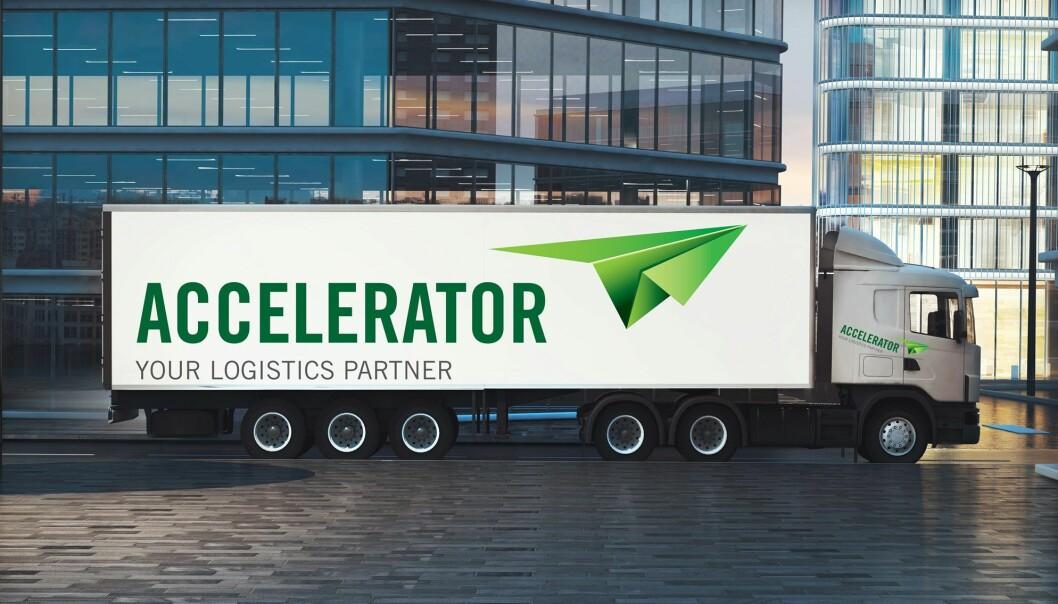 Accelerator leverer internasjonal og nasjonal transport/spedisjon og lagertjenester.