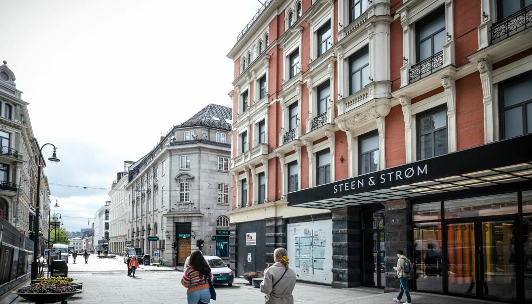 For første gang får Steen & Strøm hovedinngang fra selveste Karl Johans gate.