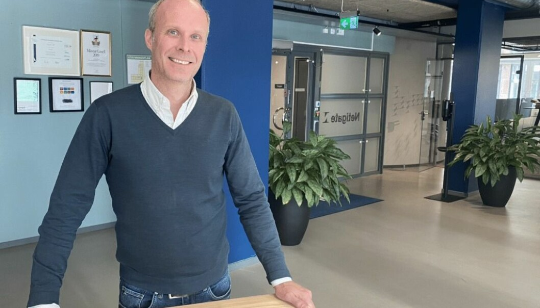 Henrik Ceder er nyutnevnt CPO i Netigate.