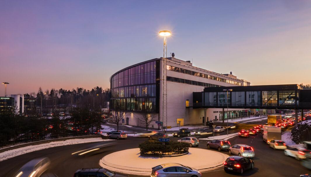 I Thons portefølje inngår seks av Norges åtte største kjøpesentre. Her fra Sandvika.