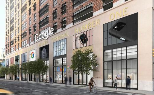 Google åpner fysisk butikk for første gang