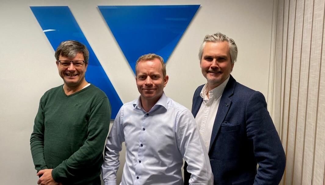 Henning Lensberg, Kjell Christophersen og Stein-Egil Gammelsrød i Value Retail har alle tung retailbalgrunn, noe som kommer godt med når de bistår norske retailere.