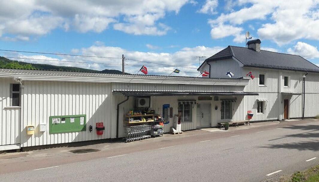 Nå er det definitivt slutt for Sundelins Handel på svensk side ved mellomriksveien mellom Grue/Kongsvinger og Torsby.