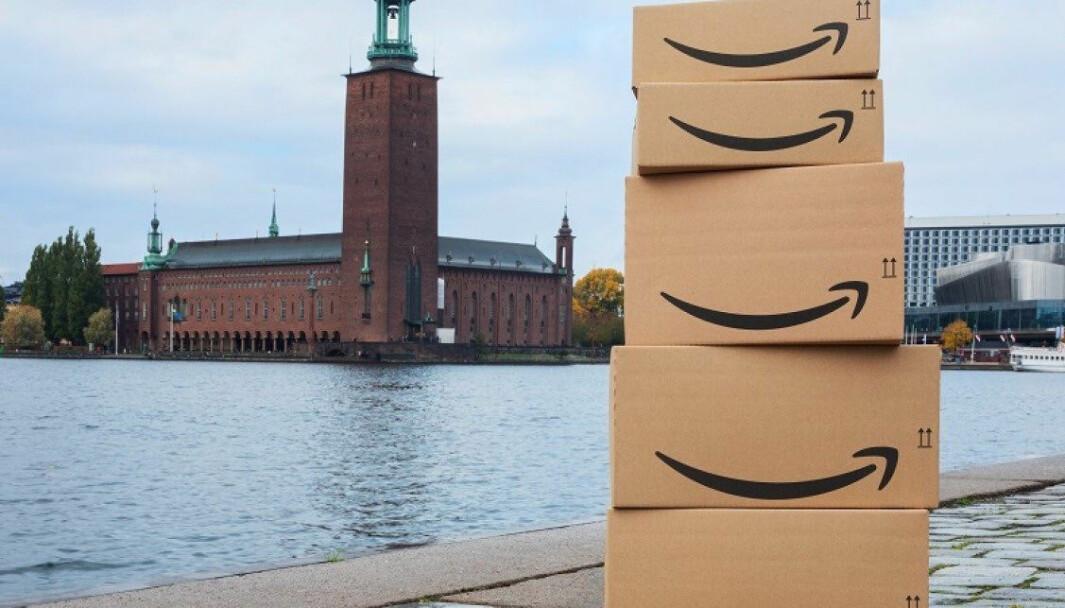 Amazon.se åpnet 28. oktober i fjor.