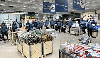 Clas Ohlson åpnet sin tiende butikk i Oslo – i et knutepunkt