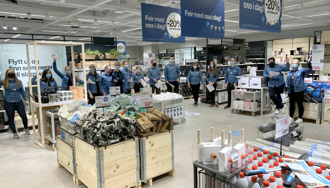 Clas Ohlson åpnet butikk på Tveita, nær kollektivknutepunktet for bydelen.