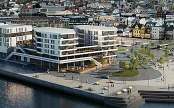 Byggingen av Arena Larsneset har startet