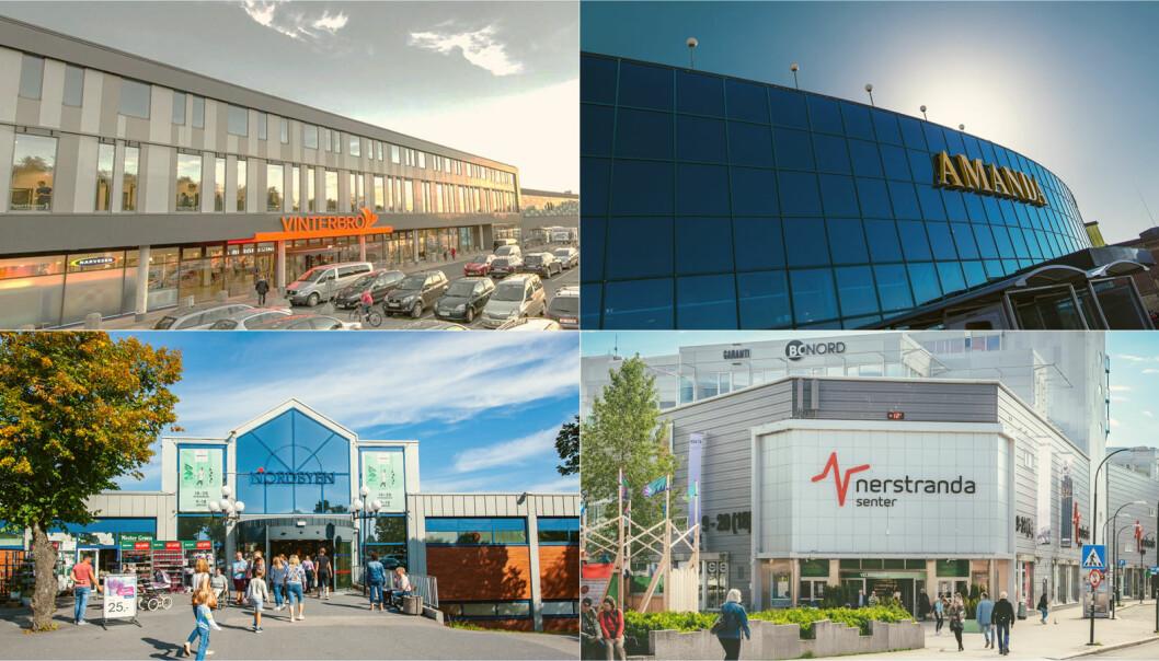 Kapitalen fra den rettede emisjonen og tilleggsemisjonen vil bli benyttet til å finansiere Aurora Eiendoms kjøp av de første fire kjøpesentrene fra Steen & Strøm.