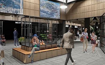 Oppussing og ny butikkmiks skal løfte Strandtorget