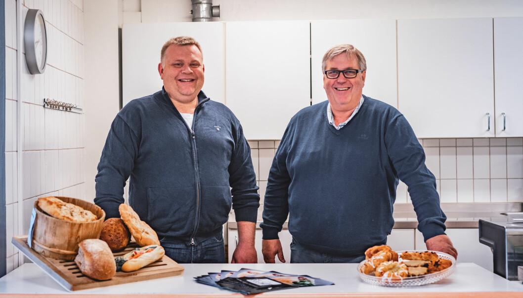 Lokale matprodusenter har knyttet seg opp til AMOIs løsning, blant andre Døla Mat ved Rune Jevnesveen og Espen Granli.