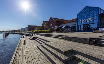 Tista Senter utvider for 10–12 nye butikker