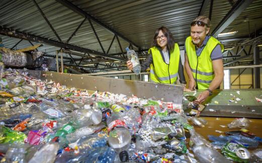 Vil heller ha 80% resirkulert plast enn 100%