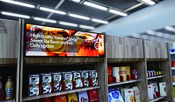 Økende bruk av digital signage i retail