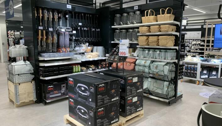 Clas Ohlsons nye butikk på Tveita.
