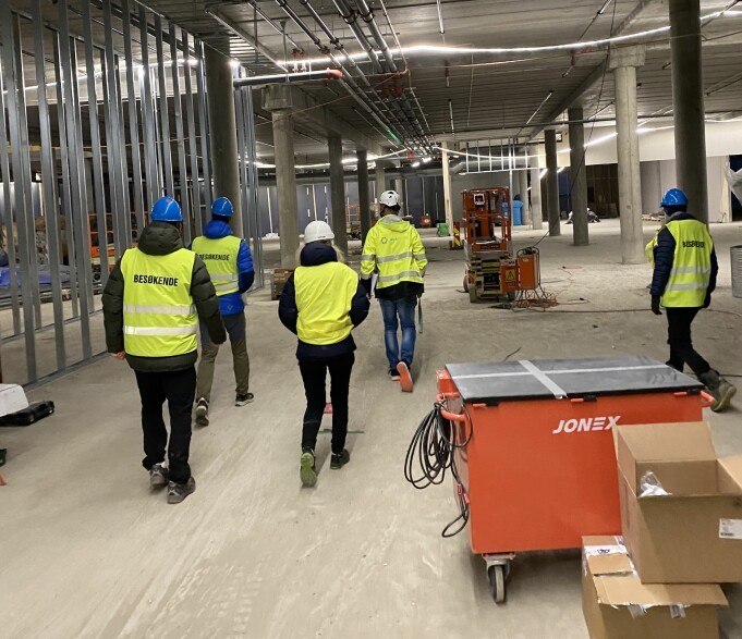 Byggingen av Rortunet pågår, og det nye senteret står ferdig til høsten.