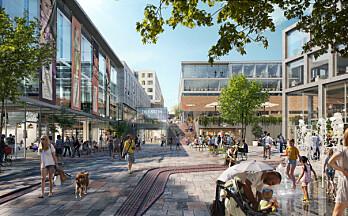Citycon utvikler Trekanten betydelig