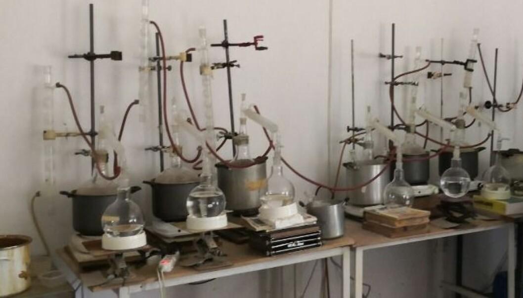 Et illegalt underjordisk laboratorium produserte piratkopierte piller for det norske markedet.
