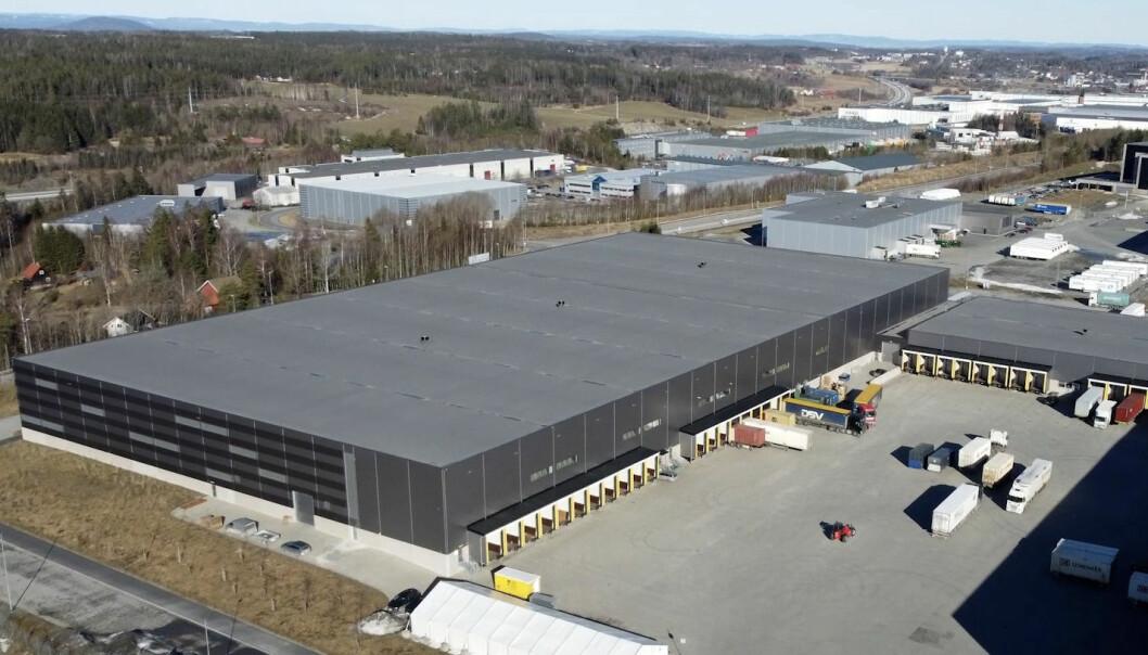 TERMINAL: Helthjem har flyttet inn i 12.000 ny terminal på Vestby på 12.000 kvadratmeter.