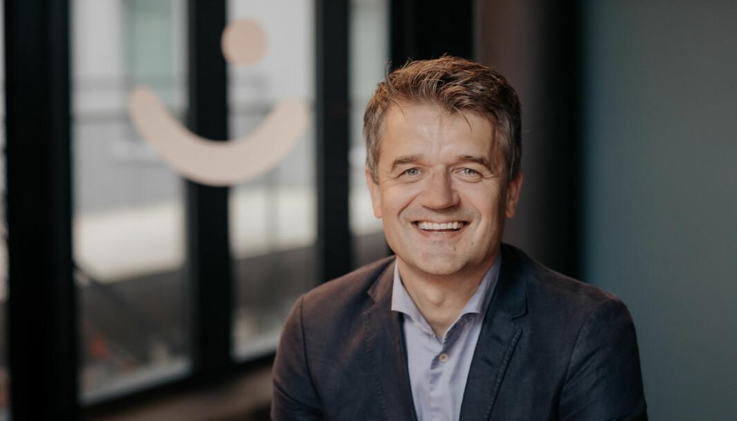 Rune Garborg, administrerende direktør i Vipps, vil lede det nye selskapet når Vipps slår seg sammen med dansker og finner.