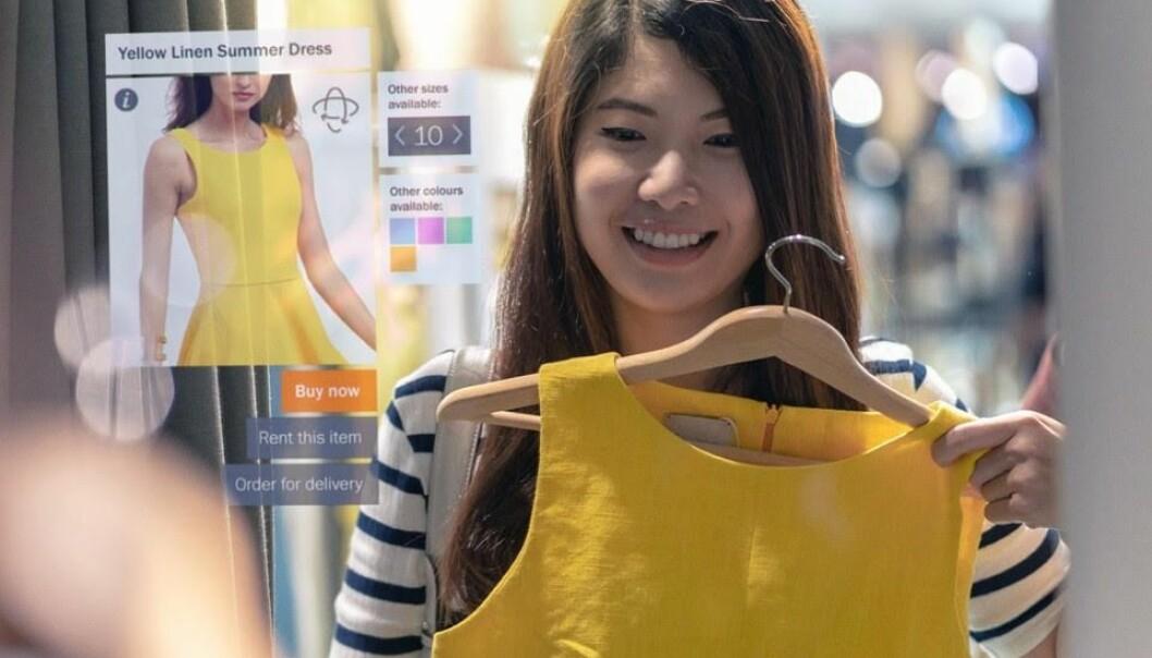 Halvparten i Gen Z foretrekker å bruke Augmented Reality (AR) til å prøve klær virtuelt.