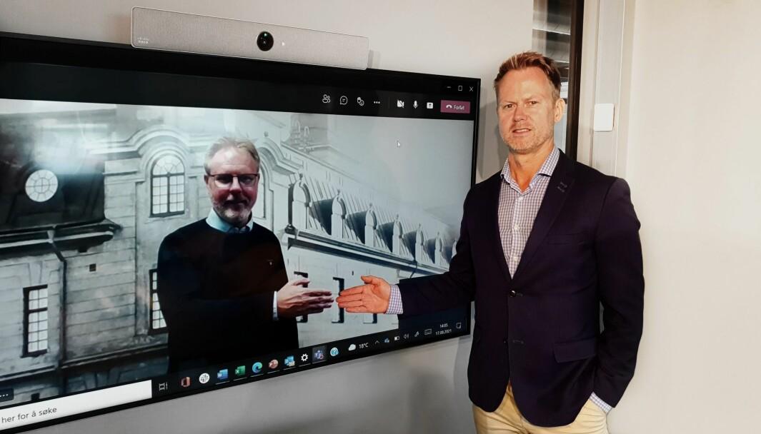 Paperfly ved konsernsjef Karl Fredrik Lund kjøper opp svenske Meriworks.