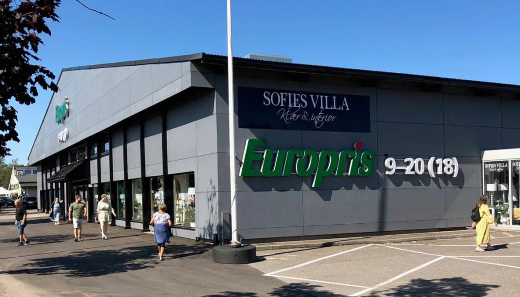 Den nye Europris-butikken på Kilen er kjedens nye 'flagship store'.