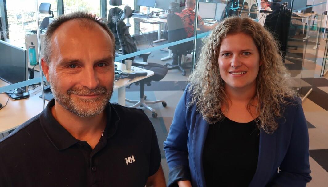 Daglig leder Torbjørn Krogen og markedssjef Sofie Fylling Helland i Driw forteller at kundene i dag forventer varereiser som er sømløse, sporbare og skalerbare, i sanntid.
