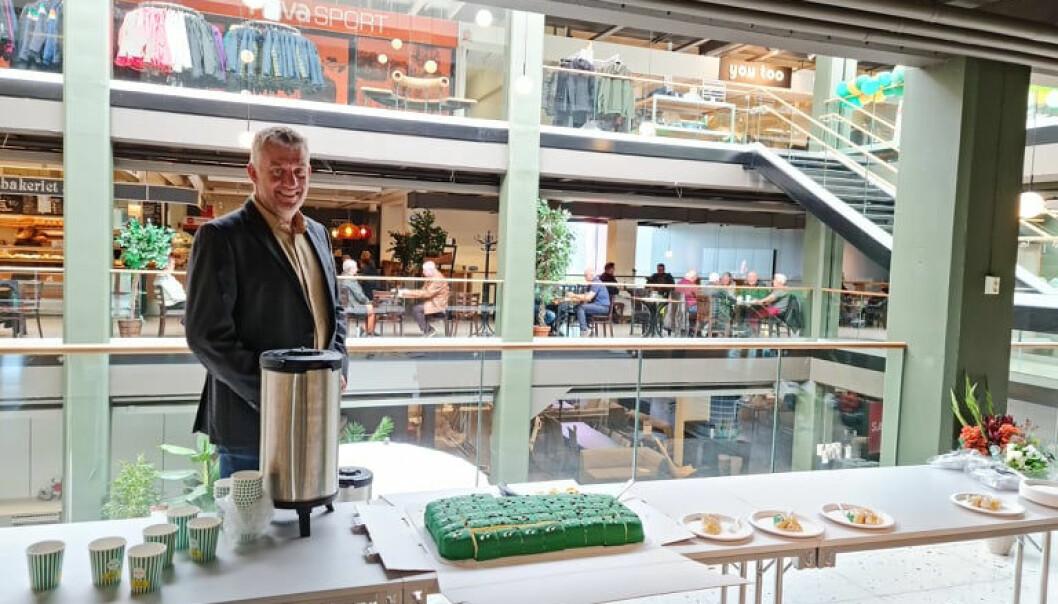 Senerleder Lars Heirsaunet mener at politikerne i Verdal og Levanger prioriterer industri høyere enn handel.